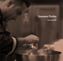 Juanma Galán | Identidad. A Br, ing, Identit, Cooking, and Graphic Design project by Javier Real - 16-01-2017