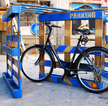 TANDEM GROUP (Bycicle parking). Um projeto de Arquitetura de Pablo Menor Palomo (menor.pablo@gmail.com)         - 31.05.2011