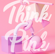 Think Pink !. A 3D project by ballache3 - Jan 20 2017 12:00 AM