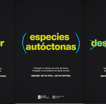 Cosellería de Medio ambiente, ordenación y desarrollo de la Xunta de Galicia.. Un proyecto de Dirección de arte, Cop y writing de Fran  Añón         - 21.01.2017