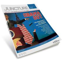 OBAMA OUT for Juncture Magazine. Un proyecto de Ilustración de Jesús Sotés Vicente - 23-01-2017