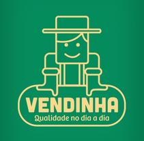 Vendinha - Identidad visual para tienda de alimentos naturales,. Un proyecto de Dirección de arte, Br e ing e Identidad de Edmundo Miranda         - 23.01.2017