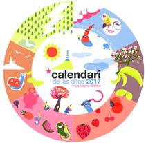 Calendari de les dites 2017. Un proyecto de Ilustración y Diseño gráfico de La Llauna Gràfica  - 23-01-2017