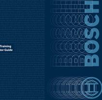 Diseño Guía pra curso de Recursos Humanos para ROCON / Bosch. A Editorial Design project by Rosalina Carrera Amoedo         - 24.01.2017