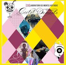 Covers Playlists Cóctel Demente . Un proyecto de Diseño gráfico de Laura Singular - 05-02-2017