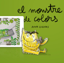 El Monstruo de Colores. A Motion Graphics, Software Development, UI / UX, Animation, Game Design, Graphic Design, Interactive Design, Multimedia, and Web Design project by minsk  - 06-02-2017