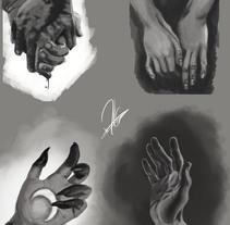 manos. Um projeto de Ilustração de Rebeca Castillo Huidobro         - 07.02.2017
