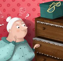 Les ulleres de l'àvia. Um projeto de Ilustração de Viuleta crespo         - 07.02.2017