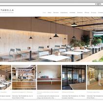 Web profesional para la arquitecta Beatriz Portabella. Un proyecto de Desarrollo Web de rseoaneb - 15-11-2015