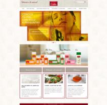 Web corporativa para Jabones Lida. Um projeto de Marketing e Desenvolvimento Web de rseoaneb         - 15.09.2015