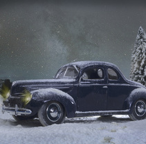 Proyecto: Fotografía creativa en estudio con Ford Deluxe 1939 escala 1/18. A Photograph project by Santiago Fernández - Feb 18 2017 08:02 AM