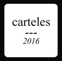carteles 2016. A Music, Audio, and Graphic Design project by petra trinidad         - 10.02.2017