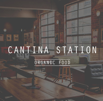 Cantina Station. A Illustration, UI / UX, Animation, Art Direction, Br, ing, Identit, Graphic Design, and Web Design project by BlauBear Design Studio         - 14.02.2017