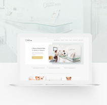 Robdental Web Design. A Web Design project by Javier Alonso - 15-02-2017