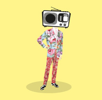 Video killed the radio star. Um projeto de Design e Ilustração de Patti Martinez - 17-02-2017
