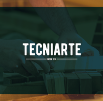 TECNIARTE. A Br, ing, Identit, and Graphic Design project by Federico Sabater         - 18.02.2017