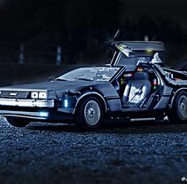 DeLorean de Joan Marc. A Photograph, Graphic Design, Post-Production, and Film project by Joan Marc Ferret - 21-07-2016