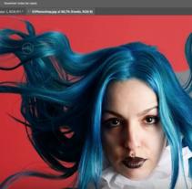 Selección precisa de cabello en Photoshop. Un proyecto de Fotografía, Cine, vídeo, televisión, Bellas Artes y Vídeo de Fátima Ruiz - 20-02-2017
