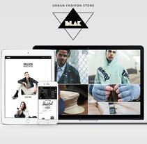 Ecommerce Blakshop. Um projeto de Web design e Desenvolvimento Web de Federico Crivellaro         - 21.02.2017