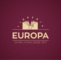 Diseño imagen corporativa Librería Europa . Un proyecto de Diseño gráfico de DIKA estudio         - 24.02.2017