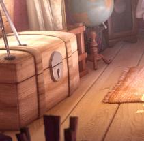 Vickery Attic Studio. Un proyecto de 3D y Animación de Alex Mateo         - 08.03.2017