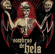 Sombras de Hela - Camiseta. A Illustration, and Graphic Design project by Trinidad Reyes Torregrosa Morales         - 01.12.2016