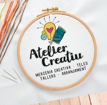 Atelier Creatiu / Imagen corporativa. A Br, ing, Identit, Crafts, and Graphic Design project by andrea elias rosas         - 15.03.2017