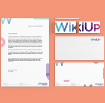 WikiUp - Corporate Branding . A Design, Art Direction, Br, ing, Identit, Editorial Design, and Graphic Design project by Abdiel Hernán         - 18.03.2017