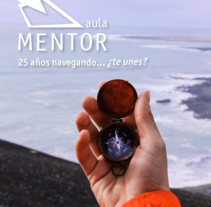 AULA 2017 - Stand Aula Mentor. A Design, Editorial Design, and Education project by Isi Cano         - 22.03.2017