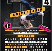 Aniversario Atomikos krw 19 Años. A Events project by Sergio David Benitez         - 25.03.2017