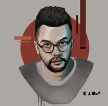 Jessé Baez. Um projeto de Design, Ilustração e Design gráfico de Álvaro López López         - 25.03.2017
