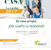 Afiche EXPOCASA.Copyright © Todos los Derechos Reservados. Un proyecto de Diseño de Patricia Calderón Jiménez         - 27.03.2017