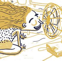 Momentos de Gloria | Comic illustration. Un proyecto de Ilustración, Diseño editorial, Comic y Lettering de Mónica Toledo         - 28.03.2017