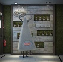 Personaje 3D. Un proyecto de Ilustración, 3D, Diseño de personajes y Diseño de interiores de Sergio Casado González - 01-04-2017