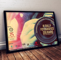 III Rally Fotográfico Solidario (Cartel y bases). A Design, Illustration, Advertising, Photograph, and Graphic Design project by Raquel Hernández Sánchez         - 29.11.2015