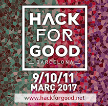 HackForGood Barcelona 2017. A Film, Video, TV, Post-Production, Web Development, and Video project by Adrià Salido Zarco         - 07.04.2017