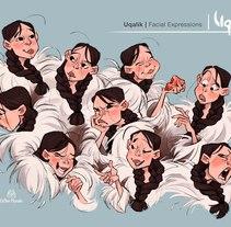 Uqalik. Um projeto de Ilustração, Animação e Design de personagens de Esther Morales         - 11.04.2017