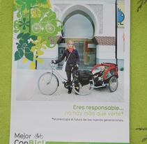 MEJOR CON BICI | Campaña de promoción de la bicicleta como transporte. Un proyecto de Cop, writing y Producción de Fran  Sánchez - 28-10-2007
