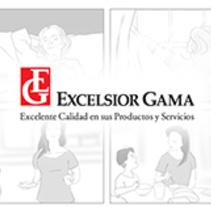 Storyboard - Excelsior Gama 47 Aniversario. Un proyecto de Ilustración, Cine, vídeo, televisión y Producción de Ronald Ramirez         - 11.11.2016