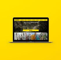 Beebiker - Website design. Un proyecto de UI / UX y Diseño Web de La Patería          - 20.04.2017