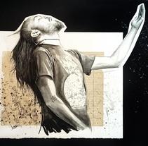 Commission . Un proyecto de Ilustración de Mentiradeloro Esther Cuesta - 22-04-2017