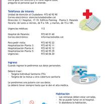 Ilustraciones para guía hospitalaria. Un proyecto de Ilustración de Mònica  Roca         - 24.04.2017
