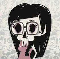 Ego Skull. Un proyecto de Diseño, Ilustración e Ilustración vectorial de Irene Ibáñez Gumiel - 27-04-2017