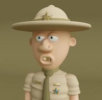 The Sheriff!. Un proyecto de 3D de Cuauhtémoc  García Robles - 05-05-2017