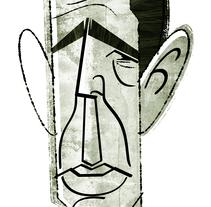 HUMPHREY BOGART. A Illustration project by David García Vivancos - 07-05-2017