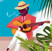 EL DISEÑO ESTÁ EN SALSA - Vol. 4. A Illustration, Art Direction, and Character Design project by Jhonny  Núñez - 08-05-2017