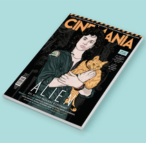 CINEMANÍA. A Art Direction, and Vector illustration project by CranioDsgn  - 16-05-2017