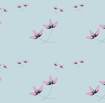 Flores vectoriales. Un proyecto de Diseño, Ilustración, Diseño gráfico e Ilustración vectorial de Laura Muñoz Estrada - 16-05-2017