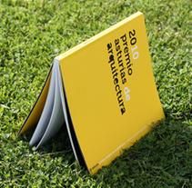 Catálogo 20 Premio Asturias Arquitectura. A Editorial Design project by Sandra Gallo         - 17.05.2017