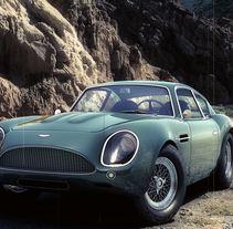 Aston Martin DB4 GT Zagato. A 3D project by Sebastian Barbero         - 20.05.2015